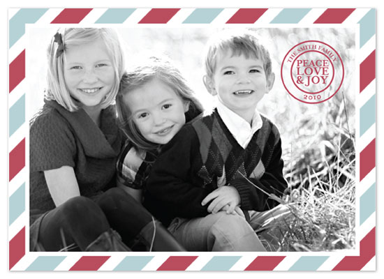 holiday photo cards - beri post by keriberi