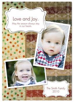 Love and Joy.