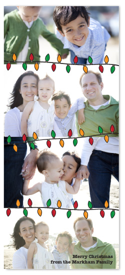 holiday photo cards - String of Lights by Kate Carpenter