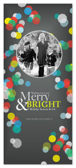 holiday photo cards - A Merry & Bright Holiday by Julia