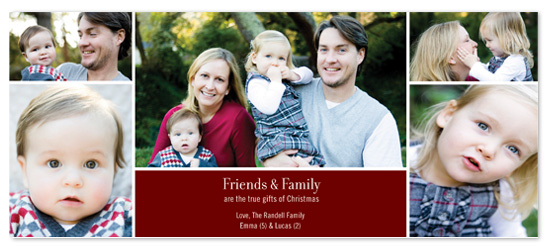 holiday photo cards - From the Whole Family by Sarah Leonard