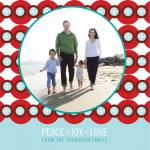 Bold Holiday Card by GAIT design