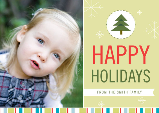 holiday photo cards - Delightful Holiday Card by GAIT design