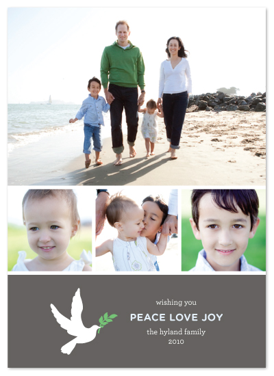holiday photo cards - Dove Love by Saddle Stitch Studio