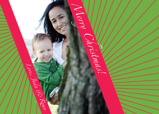 holiday photo cards - Tilt-A-Wish  by Inkblot Paper