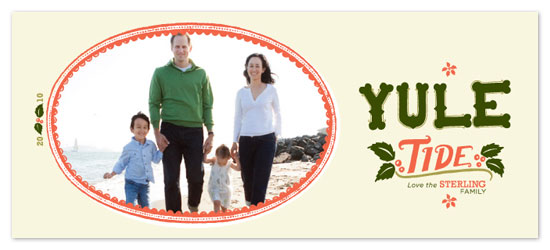 holiday photo cards - YULE TIDE by Gabriela Silva