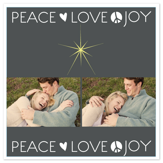 holiday photo cards - Yippie by Justina Blakeney