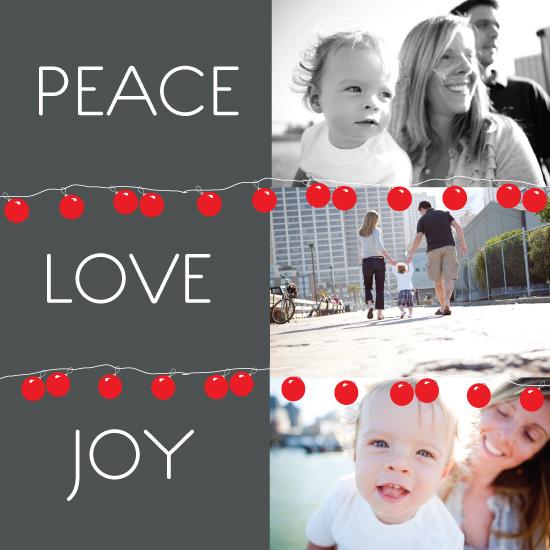 holiday photo cards - Festa by Justina Blakeney