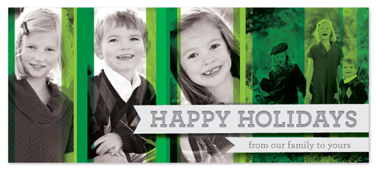 holiday photo cards - A Green Christmas by BiancaDesigns