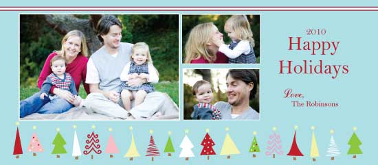 holiday photo cards - Crazy Trees by Lindsey Paige
