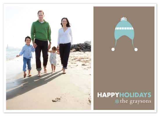 holiday photo cards - Holiday Hat by Noah and Olivia