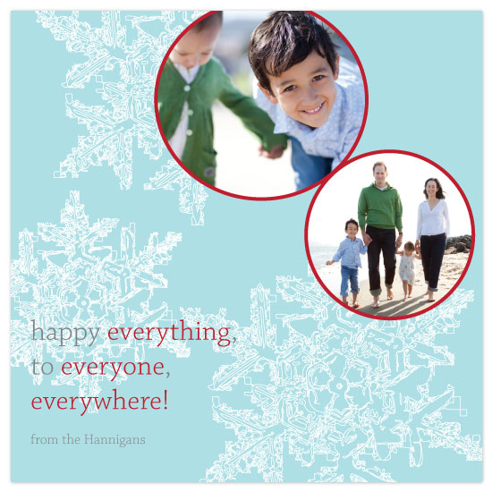 holiday photo cards - Happy Everywhere by bright designlab