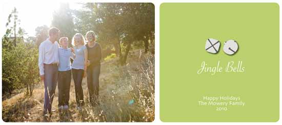 holiday photo cards - Jingle Bells by Lulu Creates