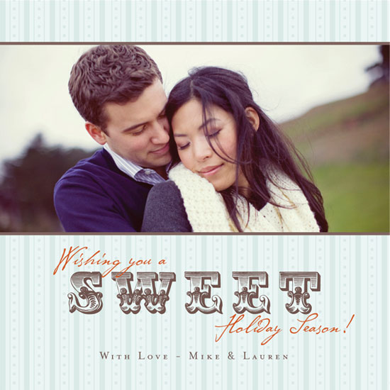 holiday photo cards - Sweet Vintage by mango designs