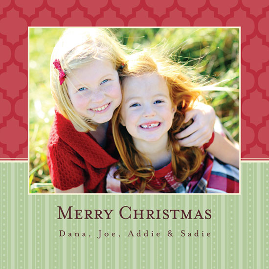 holiday photo cards - Traditional Christmas by mango designs