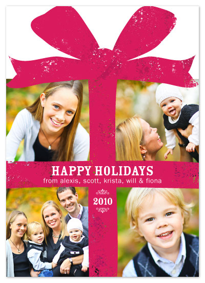 holiday photo cards - Holiday Gift Box by Fine Day Press