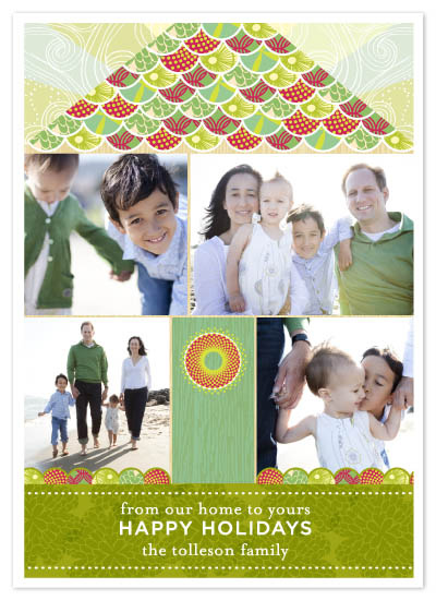 holiday photo cards - From Our Home  by Fine Day Press