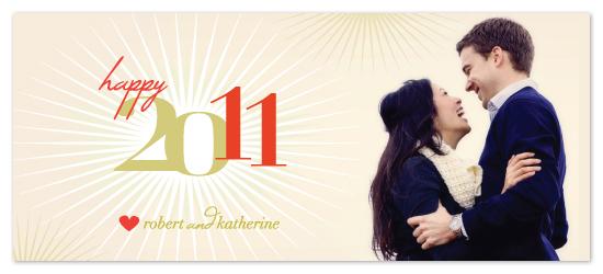 holiday photo cards - Happy 2011 by Yolanda Mariak Chendak