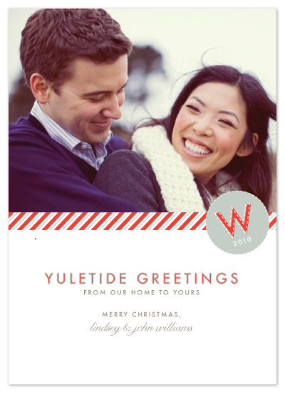holiday photo cards - yuletide greetings by Toast & Laurel