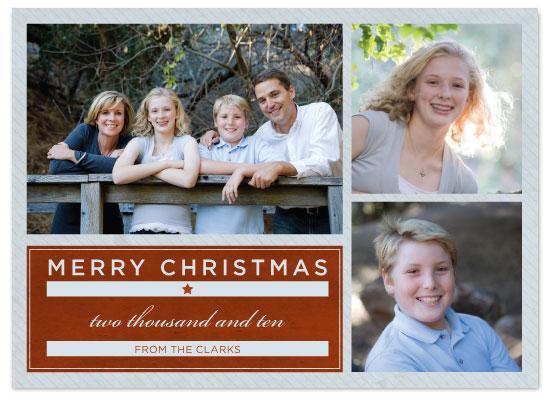 holiday photo cards - Classy Christmas by Seth Clark