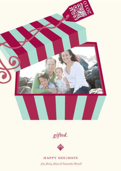 holiday photo cards - gifted. by Dana Wotruba