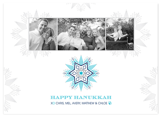 holiday photo cards - Hanukkah Star by MAGG + LOUIE