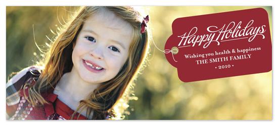holiday photo cards - beri tag by keriberi