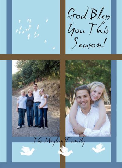 holiday photo cards - Cross by Danielle  Kasony