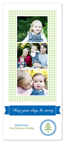 holiday photo cards - Merry Days by Blue J
