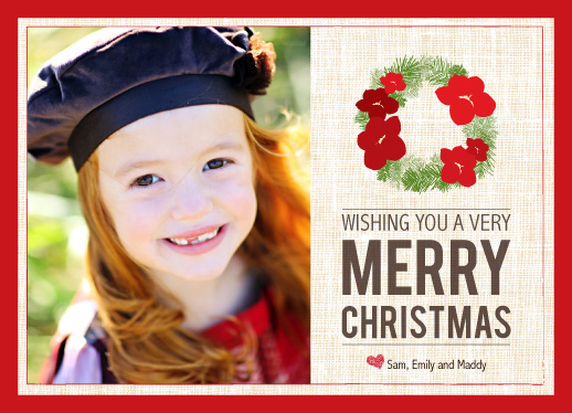 holiday photo cards - A Very Merry Christmas by Mulberry & Marie