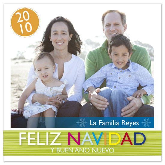 holiday photo cards - feliz navidad by hatched prints