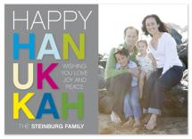 Happy Hannukah by hatched prints