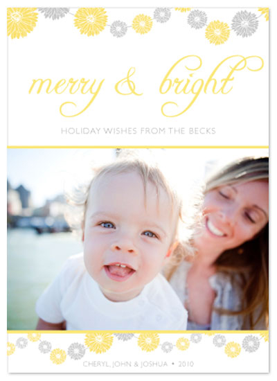 holiday photo cards - Merry&Bright 1 by Aimee