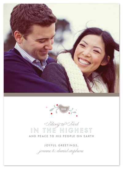 holiday photo cards - glory + greetings by Toast & Laurel