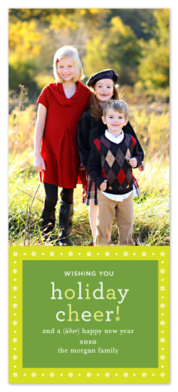 holiday photo cards - Holiday Cheer! by j.bartyn