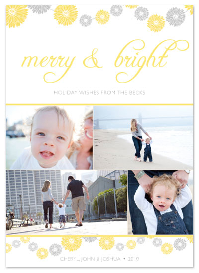holiday photo cards - Merry&Bright 2 by Aimee