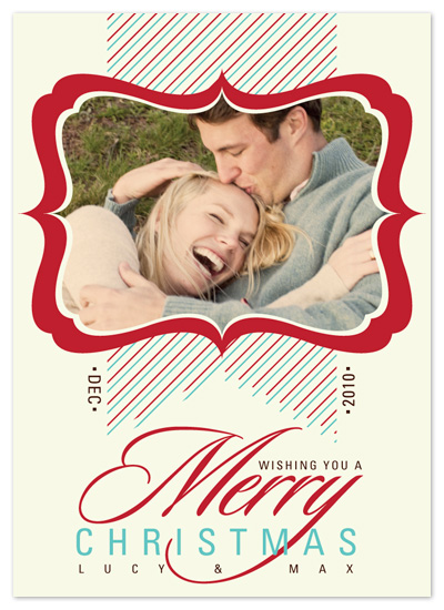 holiday photo cards - Framed Sweetness by Lizzy B Loves