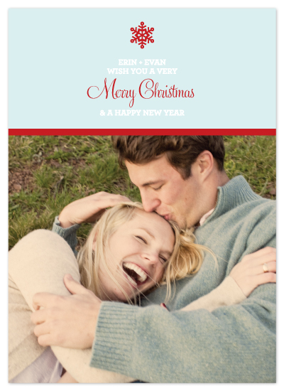 holiday photo cards - Let it Snow by Saddle Stitch Studio