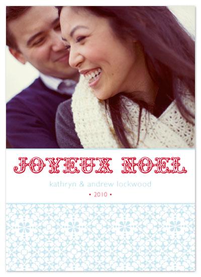 holiday photo cards - Joyeux Noel 1 by Aimee