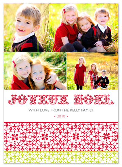 holiday photo cards - Joyeux Noel 2 by Aimee