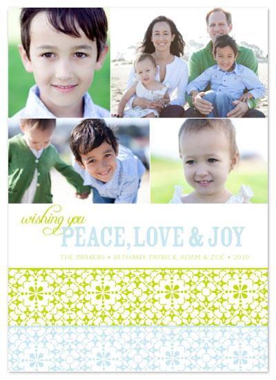 holiday photo cards - WishPeaceLoveJoy 2 by Aimee