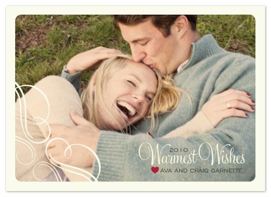 holiday photo cards - soft flourish by eskimo design