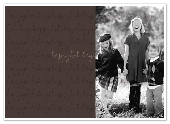 holiday photo cards - Happy Holidays by Diana Heom
