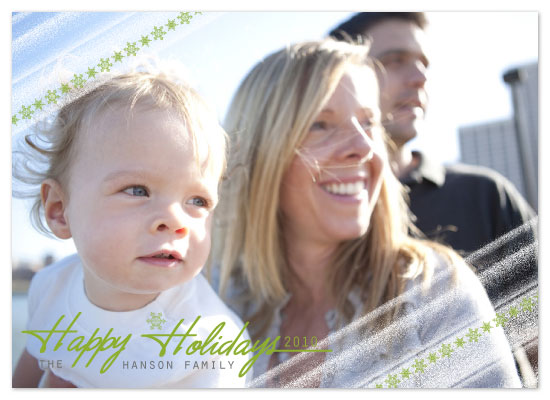 holiday photo cards - Frosty Edges by ardentGOODS