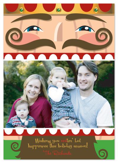 holiday photo cards - Nutty Nutcracker by CBeeProject