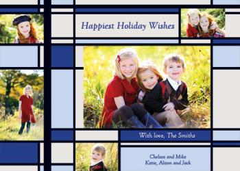 Happiest Holiday Wishes - Blue