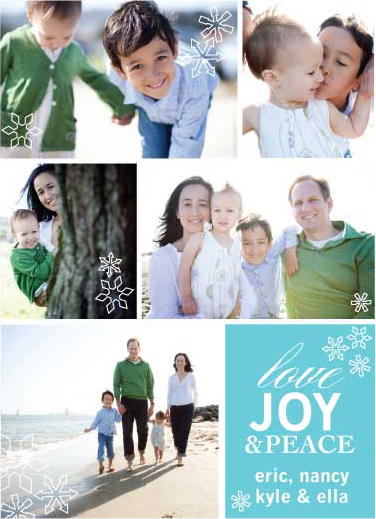 holiday photo cards - Family Album by Sara Jensen