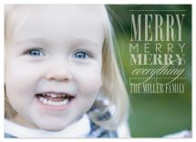 Merry Everything by Ten26 Design Custom Invitations