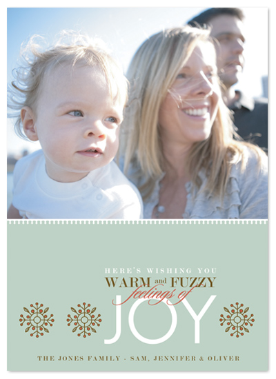 holiday photo cards - Fuzzy Feelings by Ten26 Design Custom Invitations