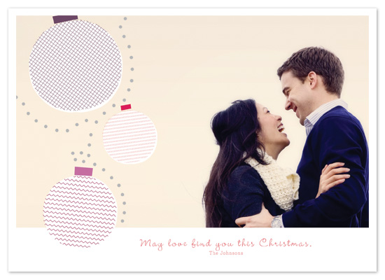 holiday photo cards - Modern love by Victoria J. Rodrigues
